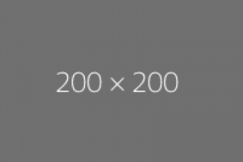a 200x200 blank image