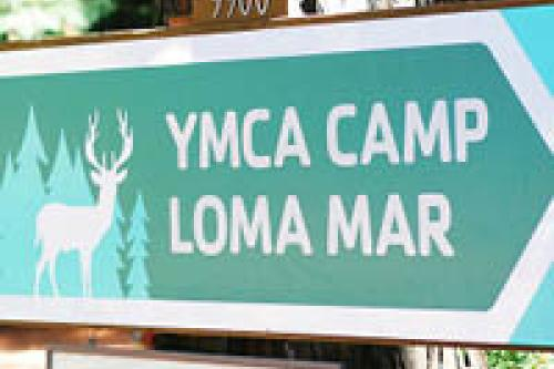 Camp Loma Mar Sign.